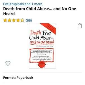 Death From Child Abuse & No One Heard By:Eve Krupp